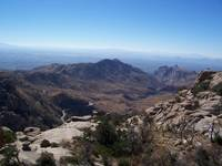 Tucson as seen from Windy Peak
