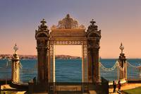 Dolmabahce Palace Gate - Istanbul