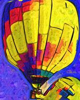 The Yellow Balloon by Kirt Tisdale