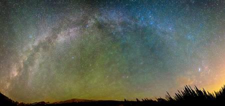 Colorado Indian Peaks Milky Way Panorama
