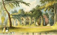 The Ruins, Frogmore, 1828 (colour litho)