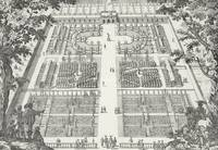 Garden design from 'The Gardens of Wilton', c.1645