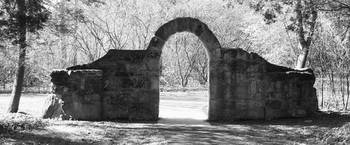 Stone Archway at Quail Hollow State Park