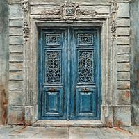 Parisian Door No.28