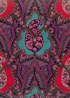 Fabric Design for Paisley Shawls, c.1871 (gouache