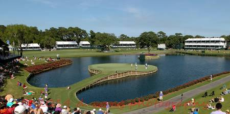 17th Green at TPC Sawgrass