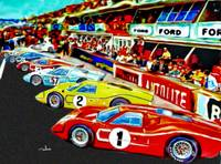 Fords 1967 Victory at LeMans