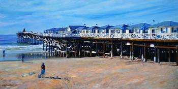 Crystal Pier Pacific Beach by RD Riccoboni