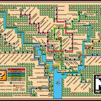Washington Metro Map (2018) Art Prints & Posters by Dave Delisle