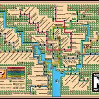 """Washington Metro Map (2018)"" by originaldave77"