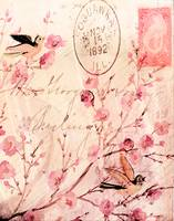 flowers and birds background_pe