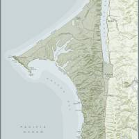 """A Map of Point Reyes National Seashore and Tomales"" by amproehl"