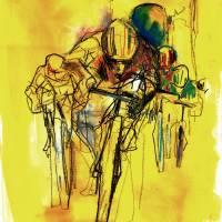 Tour de France Art Prints & Posters by Studio 1482