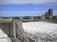 St. Anthony Falls in Minneapolis