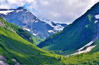 Mountanious Valley in Alaska