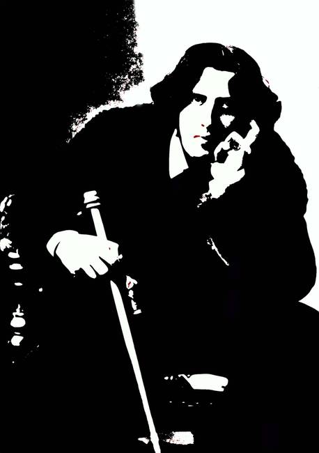 Stunning oscar wilde artwork for sale on fine art prints for Art and decoration oscar wilde