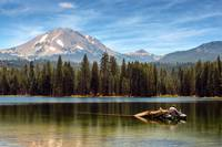 Fishing By Mount Lassen