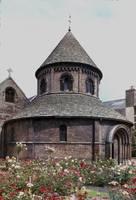 The Round Church, Cambridge 2 by Priscilla Turner