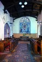 Interior, the Round Church, Cambridge by Priscilla Turner