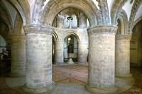 Interior, the Round Church, Cambridge 2 by Priscilla Turner