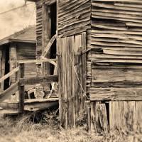 Vintage Farm Buildings by Lisa Rich