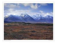 Black Mount Rannoch Moor, Scotland UK