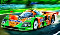 MAZDA 787 B, 1991  LeMans winner