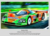 The 787B 1991 LeMans Winner