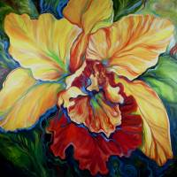 TROPICAL ORCHID by Marcia Baldwin