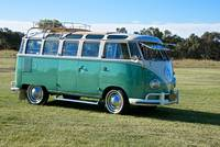VW Bus 'Open Spaces, Unknown Places'