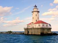 The Chicago Harbor Lighthouse Collection - Calm Wa