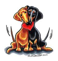 Dachshunds Have Heart