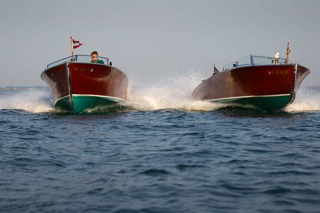 High Speed Wood Boats