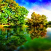 """River Terrace"" by BonnieFeasterChapa"