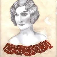 Vintage Woman Art Prints & Posters by Sarah Wallick