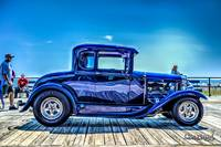 1920's Chevy Street Rod Blue