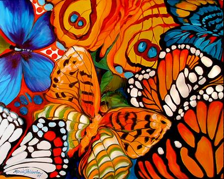BUTTERFLY ABSTRACT 06