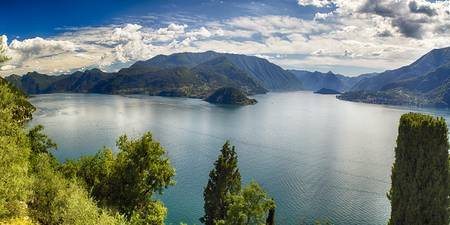 Lake Como Panoramic View