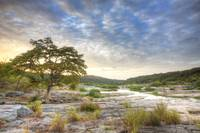 Texas Hill Country Images - Pedernales Falls on a