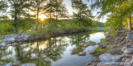 Texas Hill Country Images - Pedernales Falls Septe