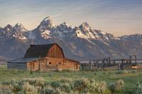 Rocky Mountain Images - Morman Barn at Sunrise