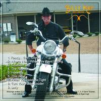 Bellmore CD Back Cover