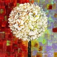 Flowers lollipop tree