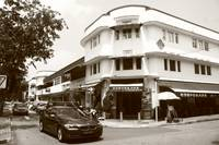 Old Town of Singapore - Tiong Bahru, monochrome
