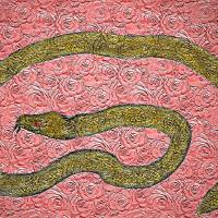 Rose Snake by Gary Miles