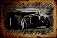 Sketch 3 Rat Rod Sedan