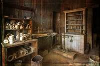 Photo Painting of Assayer's Office, Bodie
