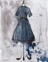Blue Andrea Dress