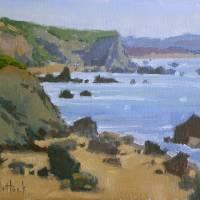 """Rocky Shores of Bodega Bay"" by KimVanDerHoek"