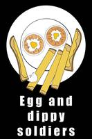 EGG AND DIPPY SOLDIERS BLACK